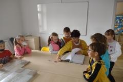 Dzień Otwarty Biblioteki Publicznej dla Szkoły Podstawowej im.JP II w Łebnie 13-16.09.2021